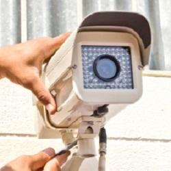 security cameras installed