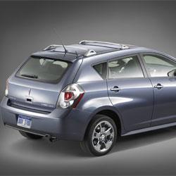 Pontiac Vibe  ignition keys replaced