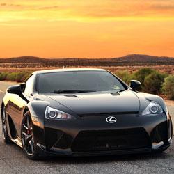 New Keys for Lexus LFA